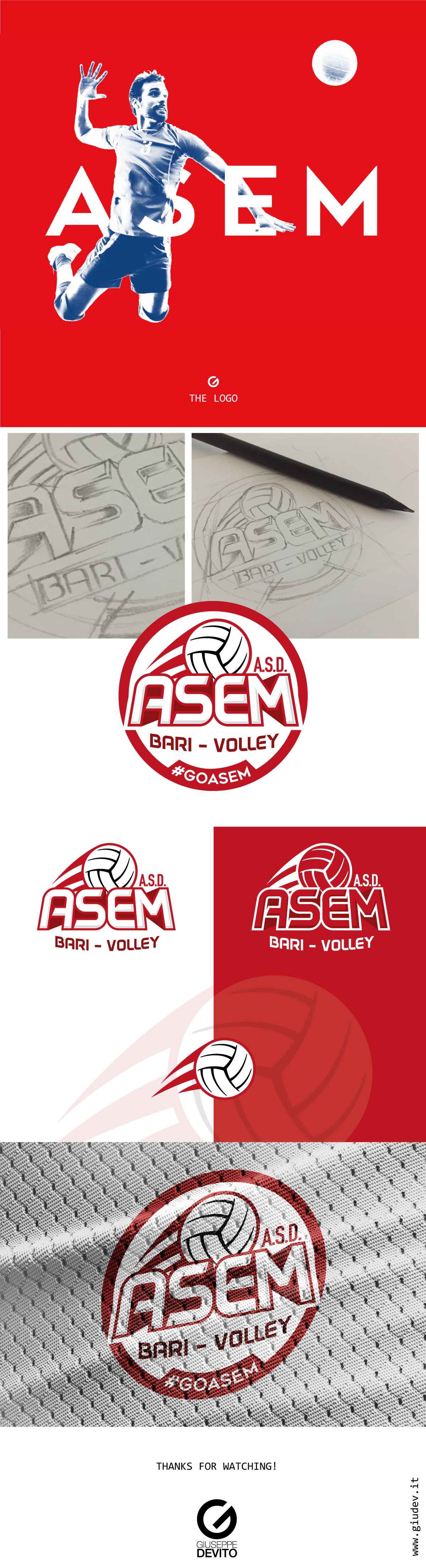 asem-bari-volley-logo-design