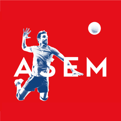 ASEM Bari Volley - logo design